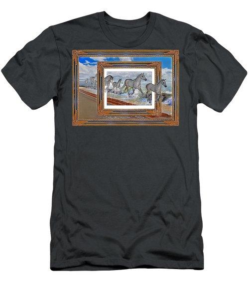 Spiritual Keys Men's T-Shirt (Athletic Fit)