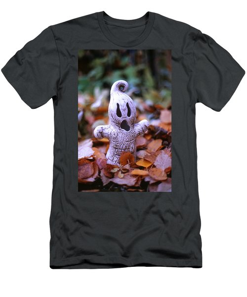 Spooky Autumn Men's T-Shirt (Slim Fit) by Aaron Aldrich