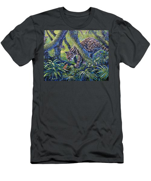 Spotted Men's T-Shirt (Slim Fit) by Gail Butler