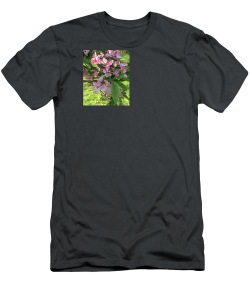 Spring Blossoms - Flower Photography Men's T-Shirt (Slim Fit) by Miriam Danar