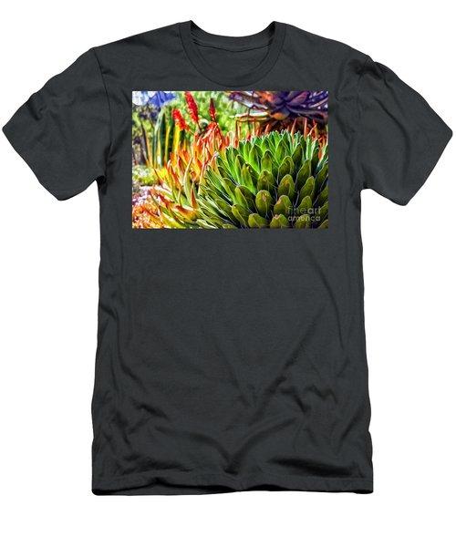 Spring Desert In Bloom Men's T-Shirt (Athletic Fit)