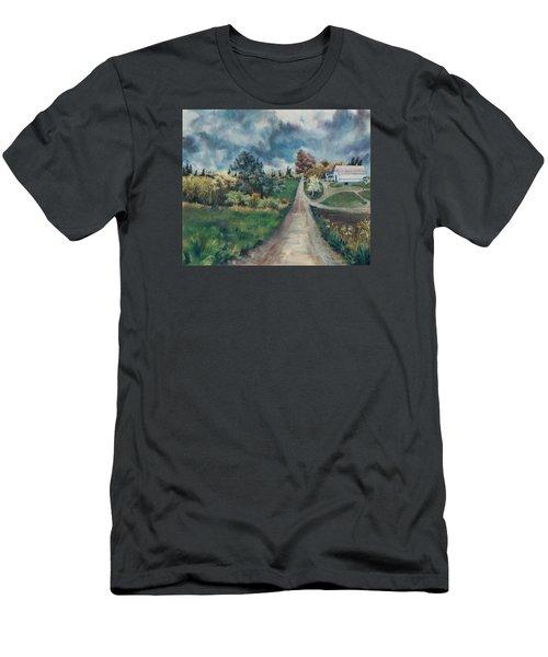 Spring Farm Men's T-Shirt (Slim Fit) by Joy Nichols