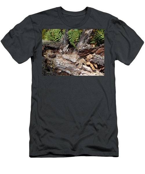 Men's T-Shirt (Slim Fit) featuring the photograph Spring In Knockan Hill by Cheryl Hoyle