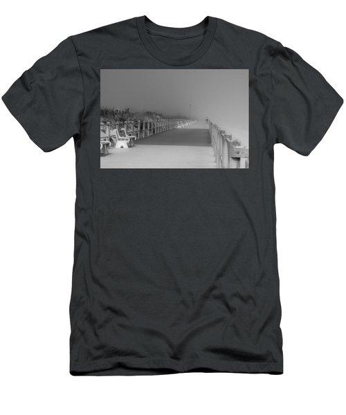 Spring Lake Boardwalk - Jersey Shore Men's T-Shirt (Athletic Fit)