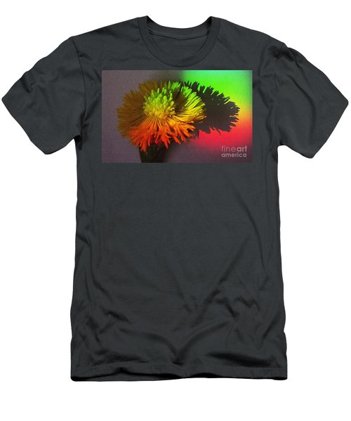 Spring Through A Rainbow Men's T-Shirt (Athletic Fit)