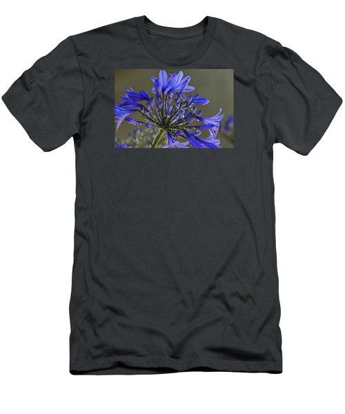 Spring Time Blues Men's T-Shirt (Slim Fit) by Menachem Ganon