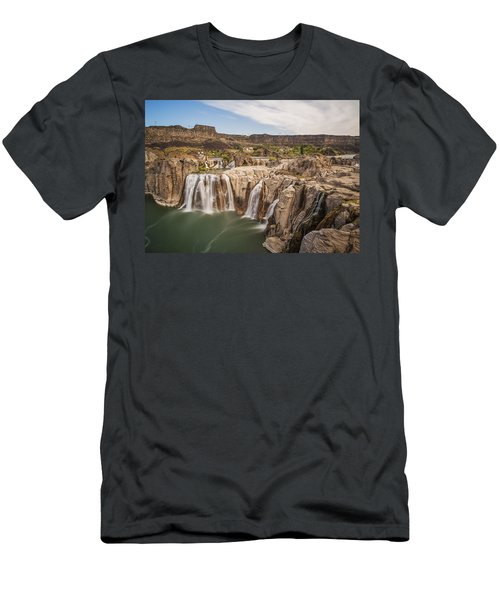 Springs Last Rush Men's T-Shirt (Slim Fit) by James Heckt