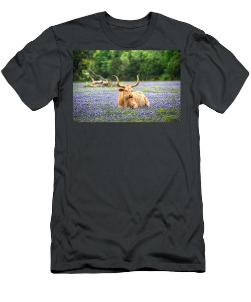 Springtime In Texas Men's T-Shirt (Athletic Fit)