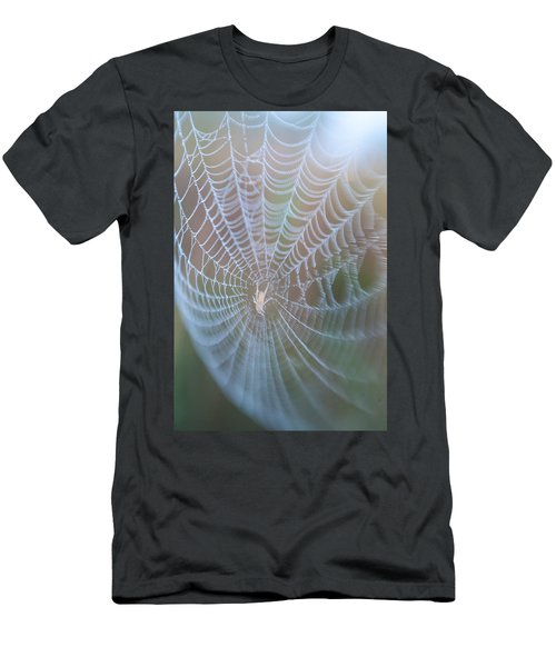 Spyder's Web Men's T-Shirt (Athletic Fit)