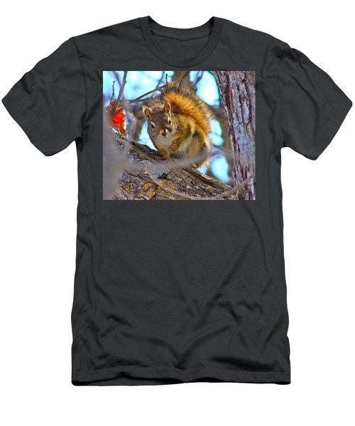 Squirrel Duty. Men's T-Shirt (Athletic Fit)