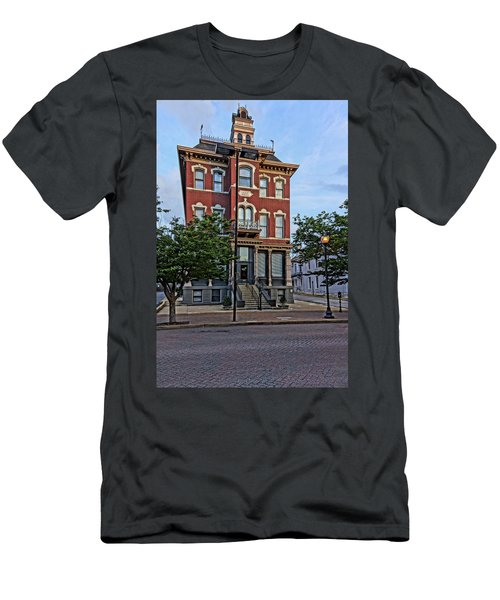 St. Charles Odd Fellows Hall Built In 1878 Dsc00810  Men's T-Shirt (Athletic Fit)