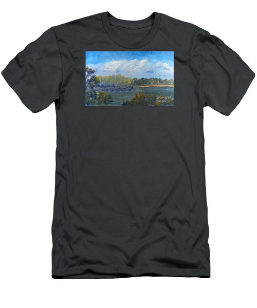 St Georges River Near Como Marina  Men's T-Shirt (Athletic Fit)