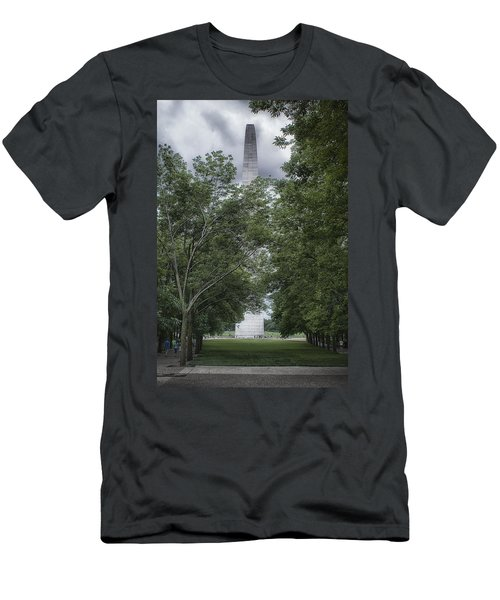 Men's T-Shirt (Slim Fit) featuring the photograph St Louis Arch by Lynn Geoffroy