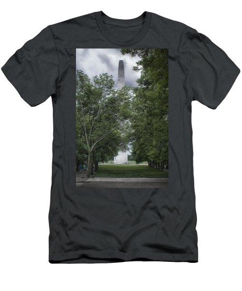 St Louis Arch Men's T-Shirt (Slim Fit) by Lynn Geoffroy
