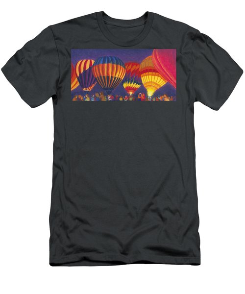 St Louis Balloon Glow Men's T-Shirt (Athletic Fit)