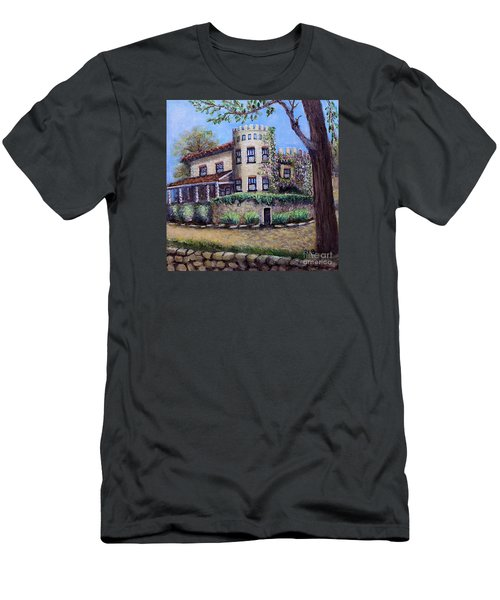 Stags' Leap Manor House Men's T-Shirt (Slim Fit) by Rita Brown