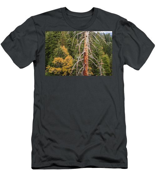 Standing Men's T-Shirt (Athletic Fit)