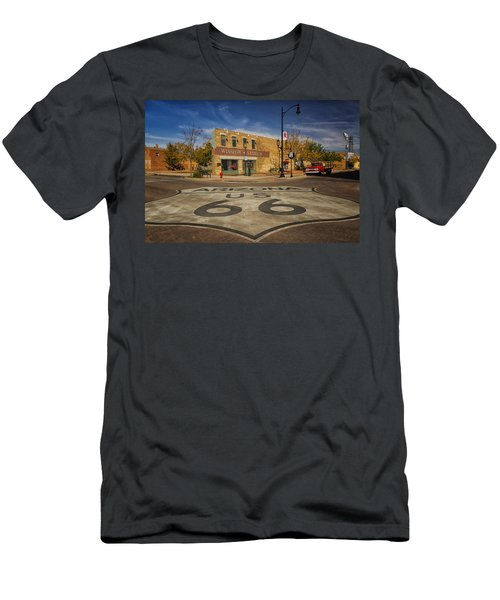 Standing On The Corner In Winslow Arizona Dsc08854 Men's T-Shirt (Athletic Fit)