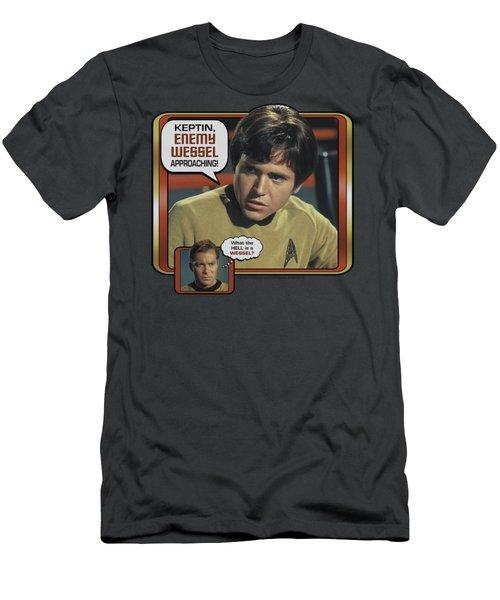Star Trek - Enemy Wessel Men's T-Shirt (Athletic Fit)