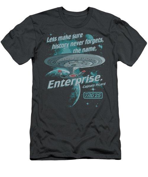 Star Trek - Never Forget Men's T-Shirt (Athletic Fit)