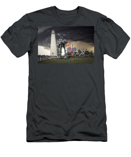 Men's T-Shirt (Slim Fit) featuring the photograph Star Wars All Terrain Armored Transport by Nicholas  Grunas