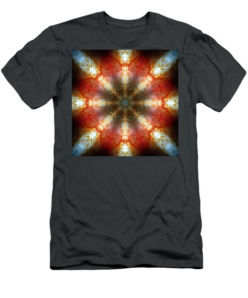 Starburst Galaxy M82 II Men's T-Shirt (Athletic Fit)