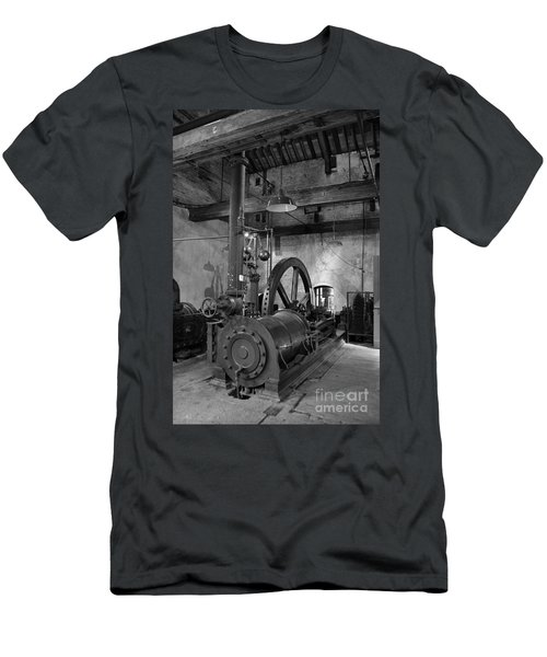 Steam Engine At Locke's Distillery Men's T-Shirt (Athletic Fit)