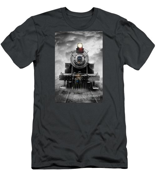Steam Train Dream Men's T-Shirt (Athletic Fit)