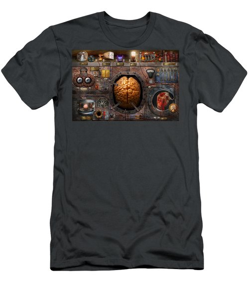 Steampunk - Information Overload Men's T-Shirt (Athletic Fit)