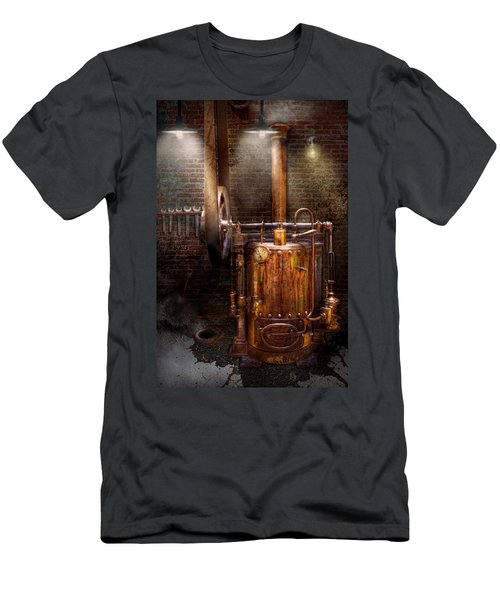 Steampunk - Powering The Modern Home Men's T-Shirt (Athletic Fit)