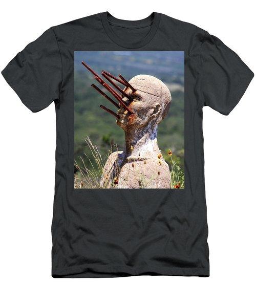 Steel Vision Men's T-Shirt (Athletic Fit)