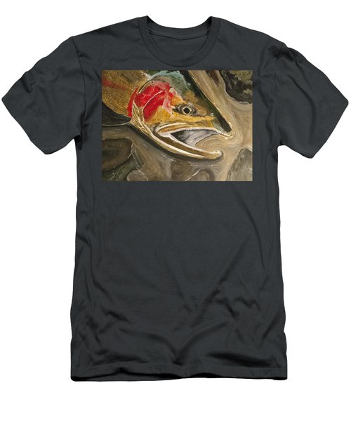 Steelhead Buck Men's T-Shirt (Athletic Fit)