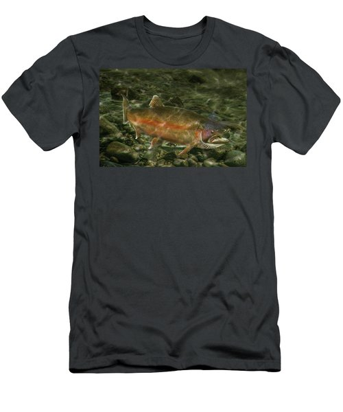 Steelhead Trout Spawning Men's T-Shirt (Athletic Fit)