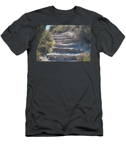 Steps In The Woods Men's T-Shirt (Athletic Fit)