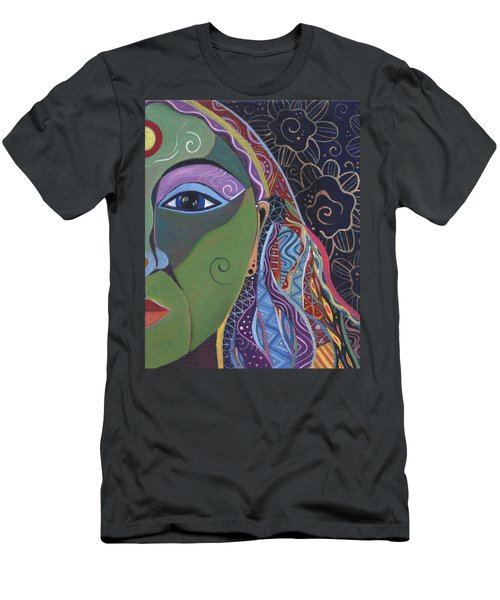 Still A Mystery 5 Men's T-Shirt (Slim Fit) by Helena Tiainen