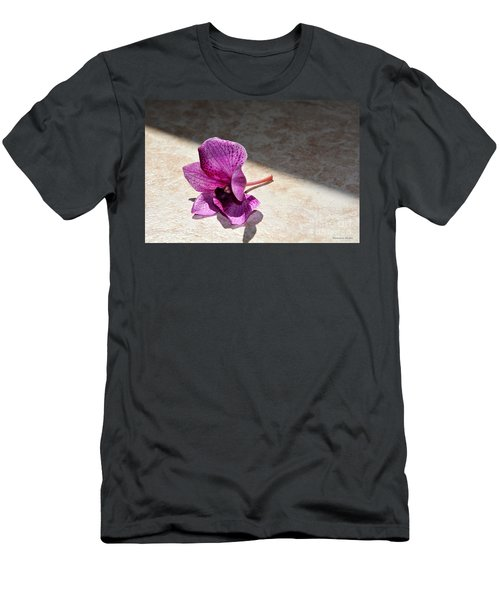 Men's T-Shirt (Slim Fit) featuring the photograph Still Beautiful by Ramona Matei