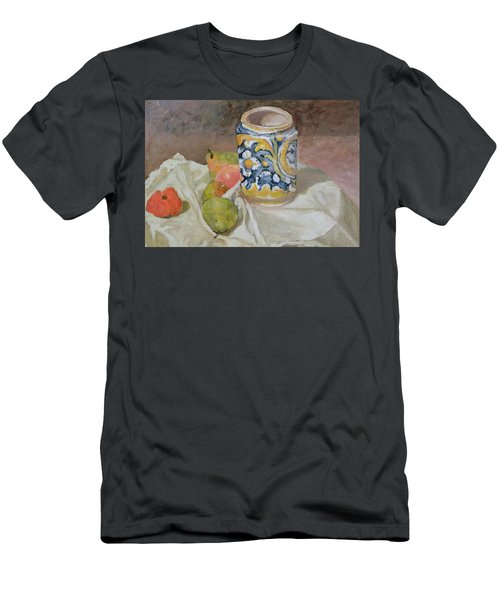 Still Life With Italian Earthenware Jar Men's T-Shirt (Athletic Fit)