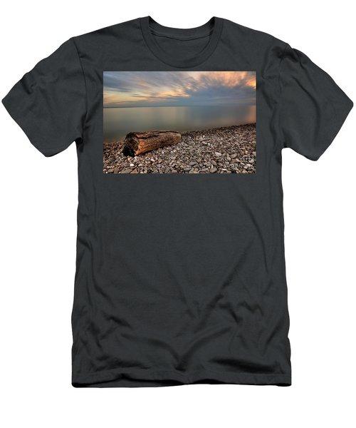 Stone Beach Men's T-Shirt (Slim Fit) by James Dean