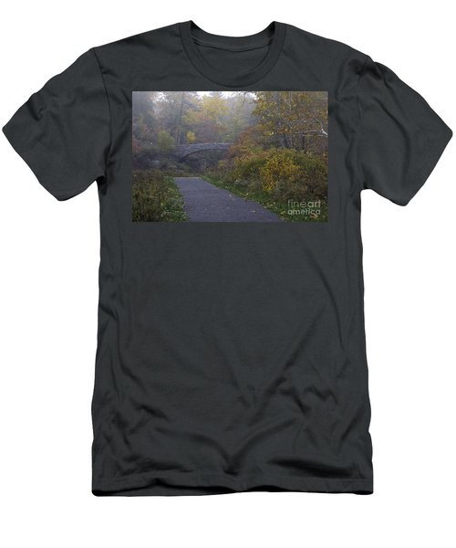 Stone Bridge In Autumn 3 Men's T-Shirt (Athletic Fit)