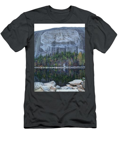 Stone Mountain - 2 Men's T-Shirt (Athletic Fit)