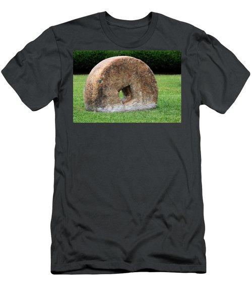 Stone Wheel Men's T-Shirt (Athletic Fit)