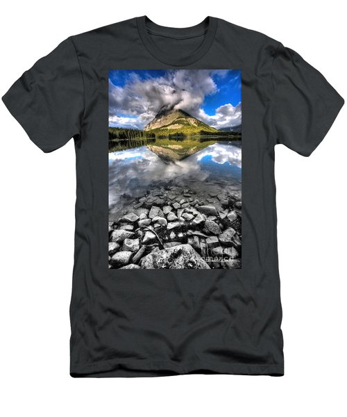 Storm Mountain II Men's T-Shirt (Athletic Fit)