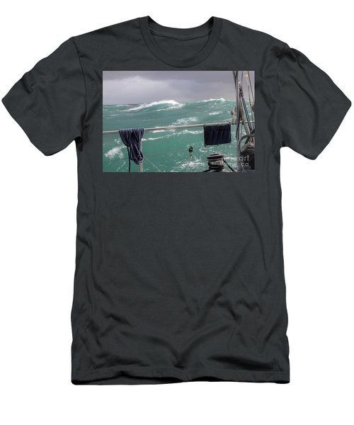 Storm On Tasman Sea Men's T-Shirt (Athletic Fit)