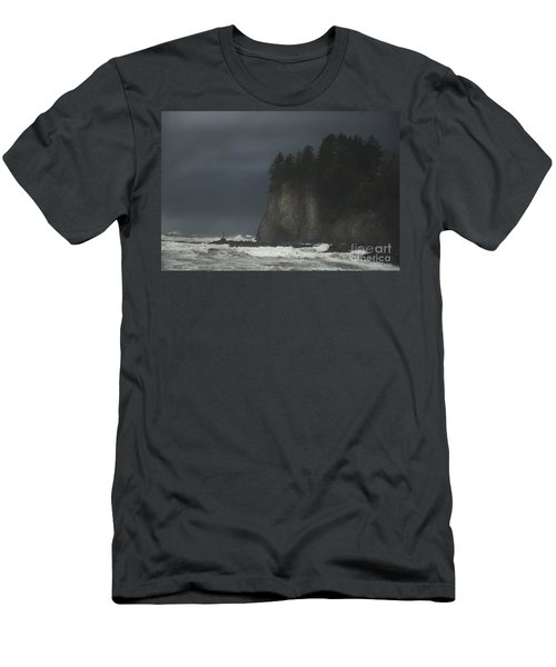 Storm At Lapush Washington State Men's T-Shirt (Athletic Fit)