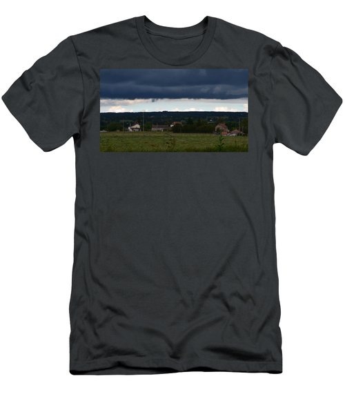 Stormy Countryside Men's T-Shirt (Athletic Fit)