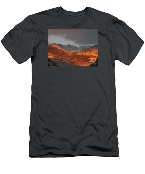 Stormy Monday Men's T-Shirt (Slim Fit) by Fiona Kennard