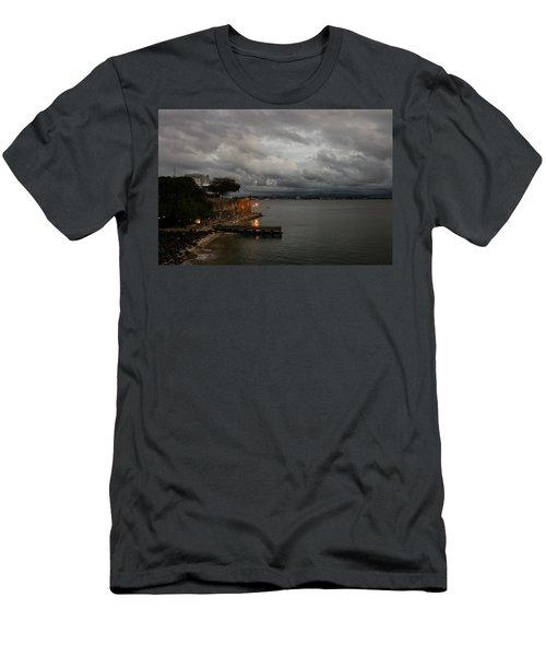 Men's T-Shirt (Slim Fit) featuring the photograph Stormy Puerto Rico  by Georgia Mizuleva