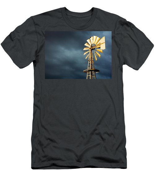 Men's T-Shirt (Athletic Fit) featuring the photograph Stormy Skies by Todd Klassy