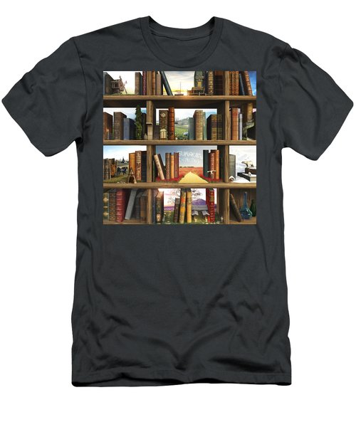 Storyworld Men's T-Shirt (Slim Fit) by Cynthia Decker