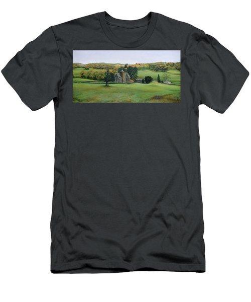 St.peters Church, Cumbria, 2003 Oil On Canvas Men's T-Shirt (Athletic Fit)